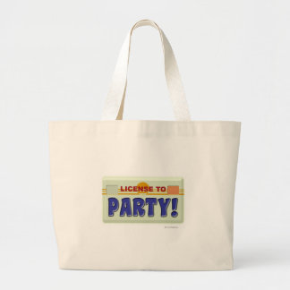License To Party! Tote Bags