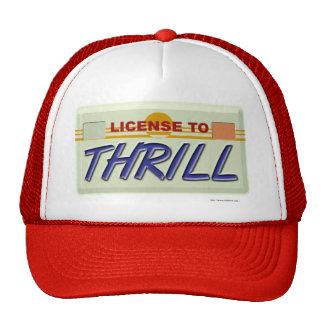 License To Thrill Trucker Hat