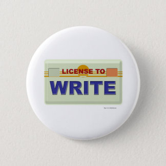 License To Write Button