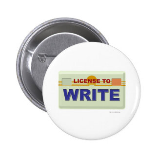 License To Write Button