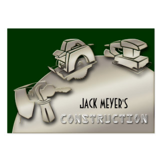Licensed Contractor Construction Business Tools Business Cards