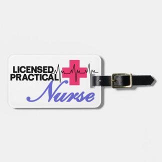 Licensed Practical Nurse Bag Tag