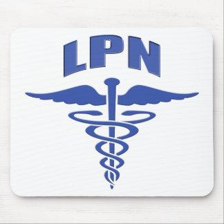 Licensed Practical Nurse Caduceus Mouse Pad