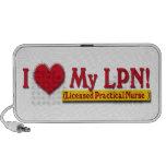 Licensed Practical Nurse iPod Speakers