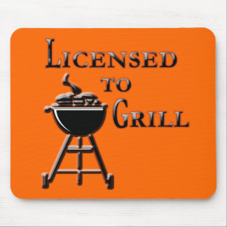 Licensed to Grill Father's Day Mug, Tshirt, Gifts Mousepad