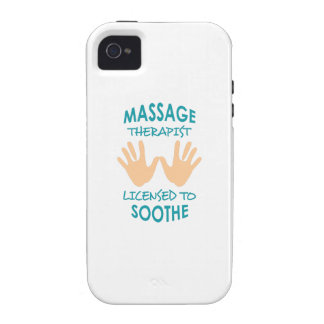 LICENSED TO SOOTHE VIBE iPhone 4 COVER
