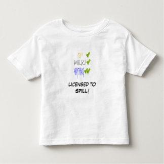 Licensed to SPILL! Toddler T-shirt