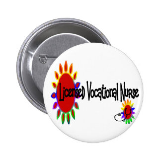 Licensed VOCATIONAL nurse 2 Inch Round Button