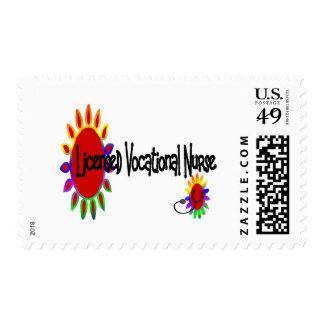 Licensed VOCATIONAL nurse Postage