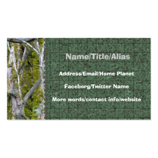 Lichen, Bark, and Branches Business Card