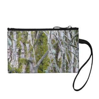 Lichen, Bark, and Branches Change Purse
