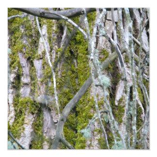 Lichen, Bark, and Branches Personalized Invitation