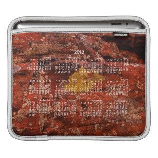 Lichen in the Desert; 2013 Calendar Sleeve For iPads