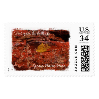 Lichen in the Desert Postage