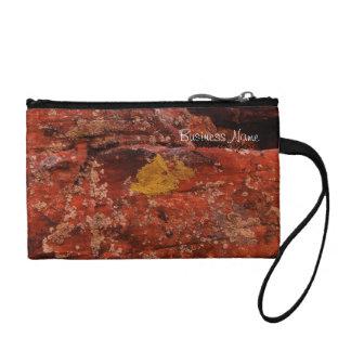 Lichen in the Desert; Promotional Change Purse