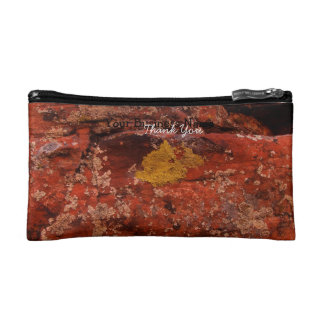 Lichen in the Desert; Promotional Cosmetics Bags