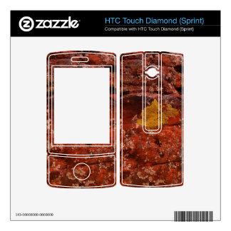 Lichen in the Desert HTC Touch Diamond Decals