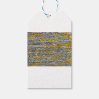 Lichens on granite stone gift tags