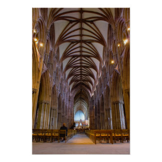 Lichfield Cathedral Poster
