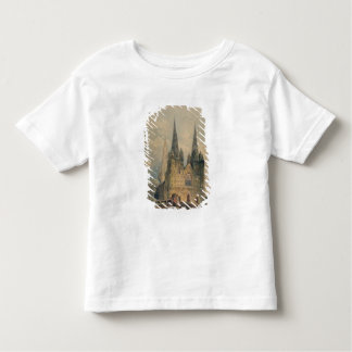 Lichfield Cathedral, Staffordshire, 1794 (w/c over Toddler T-shirt