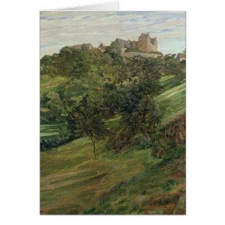 Lichtenberg Castle in Odenwald, 1900 Card