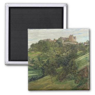 Lichtenberg Castle in Odenwald, 1900 Magnet