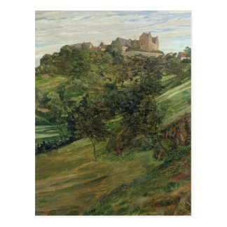 Lichtenberg Castle in Odenwald, 1900 Postcard