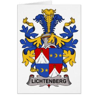 Lichtenberg Family Crest Greeting Cards