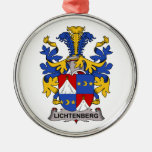 Lichtenberg Family Crest Christmas Ornaments