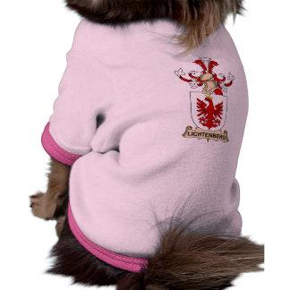 Lichtenberg Family Crest Pet T Shirt