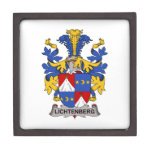 Lichtenberg Family Crest Premium Jewelry Boxes