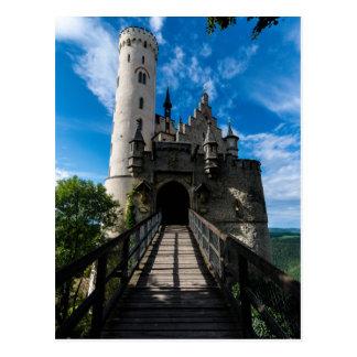 Lichtenstein Castle - Baden-wurttemberg Postcard