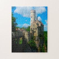 Lichtenstein Castle Reutlingen Germany. Jigsaw Puzzle