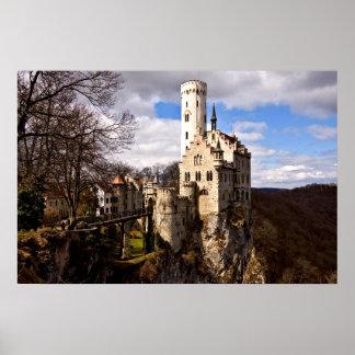 Lichtenstein Castle Schloss Lichtenstein Poster