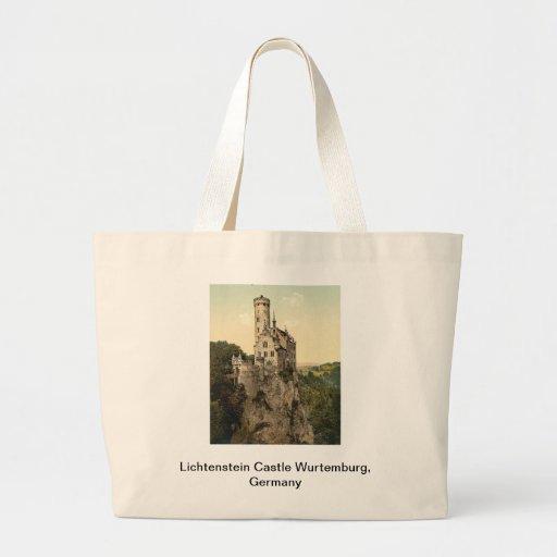Lichtenstein Castle Wurtemburg, Germany Jumbo Tote Bag