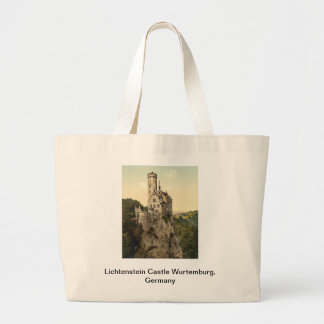 Lichtenstein Castle Wurtemburg, Germany Large Tote Bag