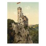 Lichtenstein Castle Wurtemburg, Germany Postcard