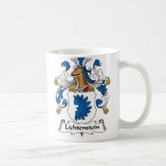 Lichtenstein Family Crest Coffee Mug