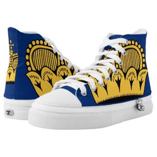 Lichtenstein High-Top Sneakers