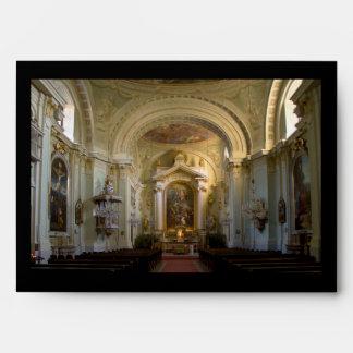 Lichtental Church Vienna Austria Envelopes