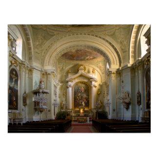 Lichtental Church Vienna Austria Postcard