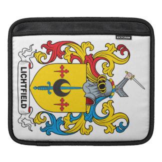 Lichtfield Family Crest iPad Sleeve