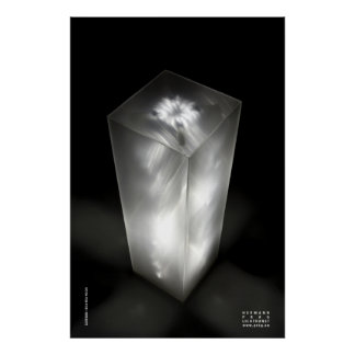 Lichtstele B - Light Stele B, Poster