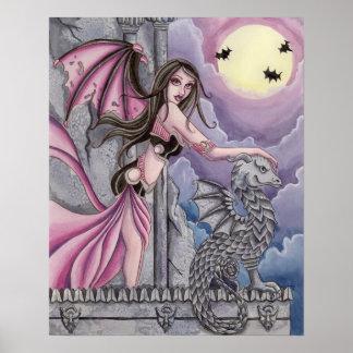 Licia - Vampire Fairy Poster