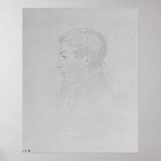 Licitador de George Parker, 1819 Póster