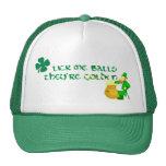 Lick Me Balls They're Golden Trucker Hat