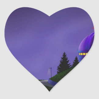 Lick Observatory High Rez.jpg Heart Sticker