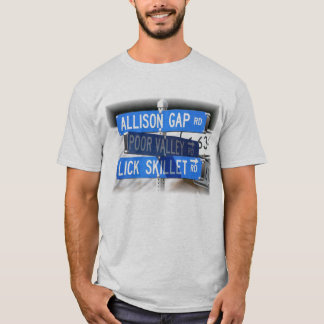 Lick Skillet, Poor Valley & Allison Gap T-Shirt