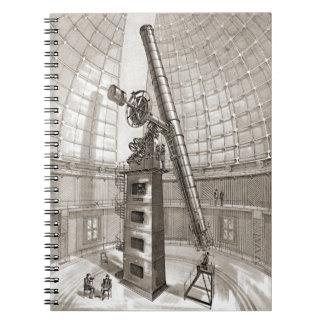 Lick Telescope 1889 Spiral Note Book