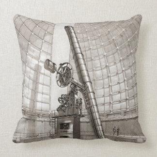 Lick Telescope 1889 Throw Pillow
